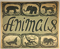 Another image of A BOOK OF ANIMALS. by (Children's Art Education) SMALLBERRY GREEN SECONDARY MODERN SCHOOL (ELLIS, W.)
