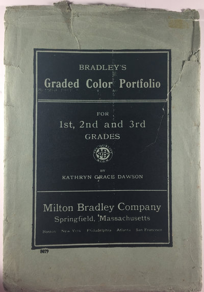 BRADLEY'S GRADED COLOR PORTFOLIO by (Children's Art Education) DAWSON, Kathryn Grace.