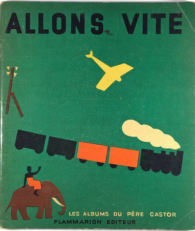 ALLONS VITE. by (Children's Art - Interactive Book) CELLI, Rose et Nathalie PARAIN.