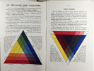 Another image of LES SIX COULEURS FONDAMENTALES DU COLORIS. by BOURGEOIS Ainé, manufacturer.