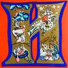 Another image of СКАЭОЧНАЯ АЗБУКА. (SKAZOCHNAIA AZBUKA). (A FAIRY TALE ALPHABET). by (Colour Alphabet) MAVRINA, Tatiana Alekseevna.