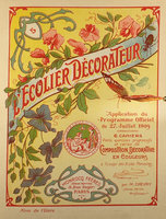 L'ECOLIER DECORATEUR. by Chevry, M.