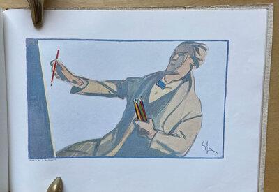 CARAN D'ACHE. Le Crayon de Qualité. by CARAN D'ACHE (cover title).