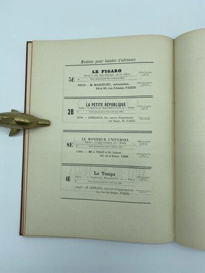 DE L'INSTALLATION D'UN ATELIER DE COMPOSITION POUR JOURNAUX. by (TURLOT, A. Sr.)