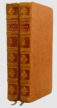 Les avantures de Joseph Andrews, by FIELDING, Henry (1707-1754).DESFONTAINES, Pierre François Guyot, abbé (1685-1745).