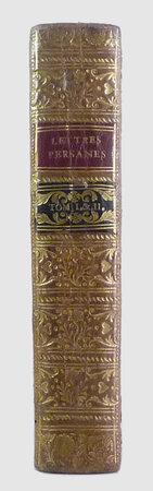 Lettres Persanes, by MONTESQUIEU, Charles de Secondat, baron de (1689-1755).