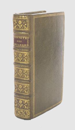 Histoire des Sevarambes, by VAIRASSE (or Veiras d'Allais), Denis (circa 1630-1696).