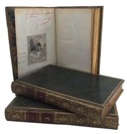 Les A Propos de Societé by LAUJON, Pierre (1727-1811).MOREAU, Jean Michel, 'le jeune' (1741-1814), illustrator.