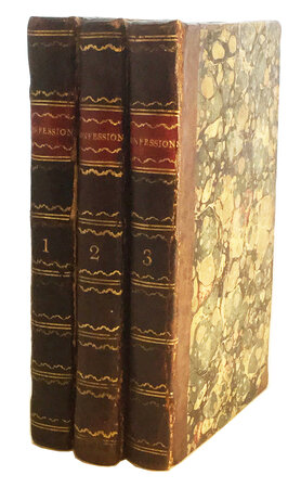 Confessions in Elysium; by WIELAND, Christian Martin (1733-1813).ELRINGTON, John Battersby, translator.