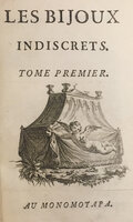 Les Bijoux Indiscrets. by DIDEROT, Denis (1713-1784).