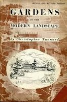 Gardens in the Modern Landscape by  TUNNARD Christopher