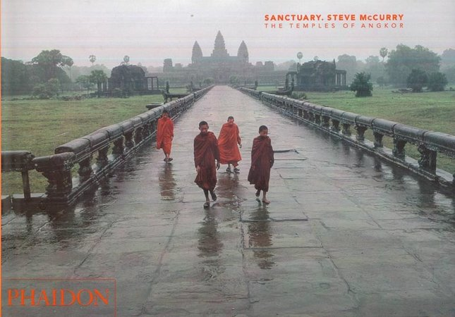 Sanctuary: The temples of Angkor by  McCURRY, Steve (introduction by John Guy)