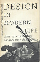 BBC Design in Modern Life: April 1933 by CARRINGTON Noel (introduction)