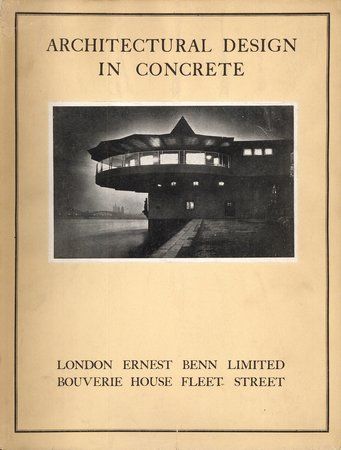 Architectural Design in Concrete by  BENNETT.T,P