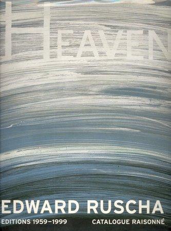 Edward Ruscha Editions 1959-1999 by  [RUSCHA] ENDBERG, [Author]