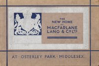 """The New Home of Macfarlane Lang and Co. Ltd at Osterley Park Middlesex by """"Britain's most modern biscuit factory"""" MACFARLANE LANG & CO LTD.,"""