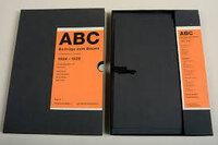 ABC Beiträge Zum Bauen/Contributions on Building 1924-1928 by STAM, Mart, SCHMIDT Hans, LISSITZKY El, ROTH Emil (editors)