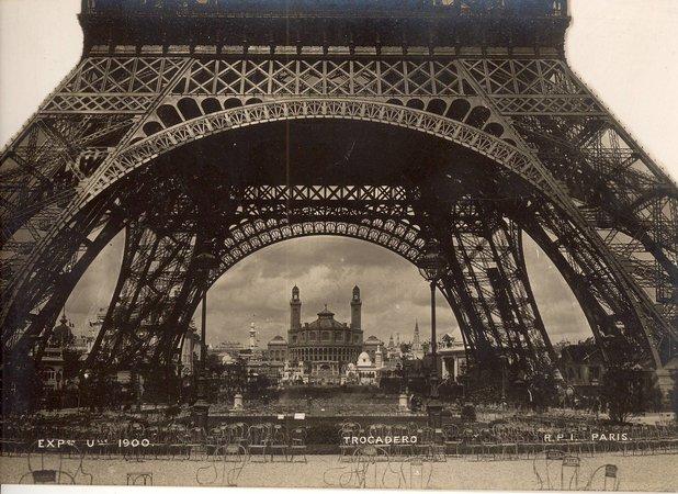 Photographs - fourteen images by  PARIS  EXPOSITION UNIVERSELLE DE 1889