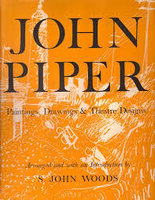 John Piper - Paintings, Drawings & Theatre Designs 1932-1954 by  (PIPER) WOOD, S. John (Arranged with an introduction by)