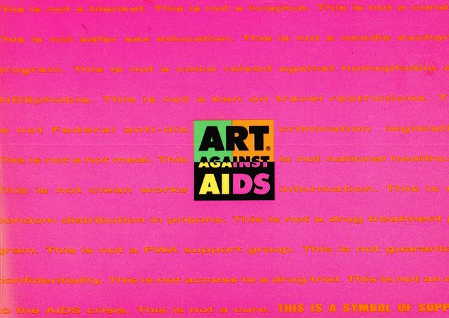Art Against Aids by LIVET, Anne. Editor