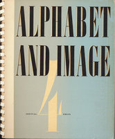 Alphabet and Image 4 by  HARLING, Robert. (editor)