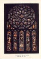 Les Vitraux de la cathédrale de Chartres by  [CHARTRES STAINED GLASS] DELAPORTE Yves & HOUVET, Etienne
