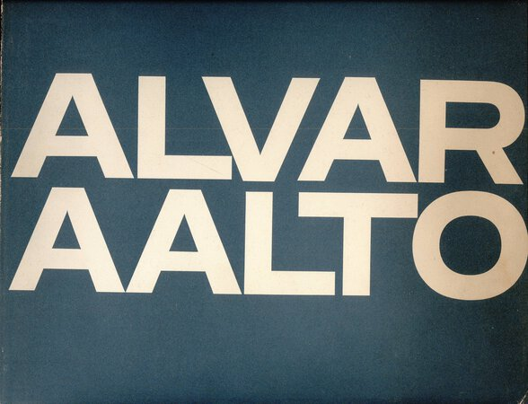 Alvar Aalto by (AALTO) SCHILDT Goran (introduction