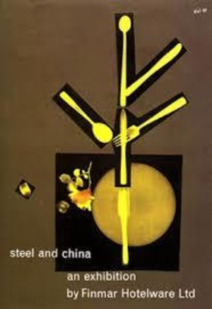 Steel and China and Exhibition by  [FINMAR] ZERO Hans Schleger,
