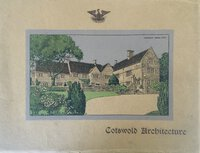 Cotswold Architecture by Saunders and Sons Ltd.,