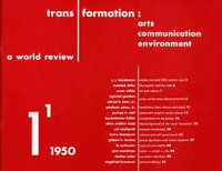 A World Review by [HOLTZMAN, Harry] Transformation: arts communication environment