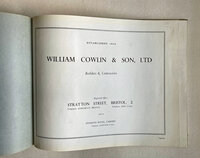 A Record of Building by Trade Catalogue (WILLIAM COWLIN & SON, LTD.)