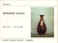 Pottery by Bernard Leach by [LEACH Bernard]