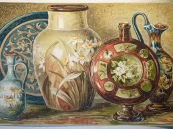China Painting by LEWIS, Florence.