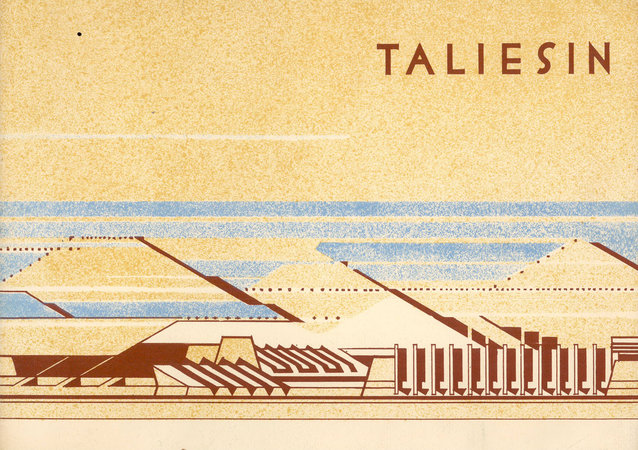 Taliesin Drawings: Recent Architecture of Frank Lloyd Wright selected from his drawings by [FRANK LLOYD WRIGHT] KAUFMANN, Edgar ... comment by