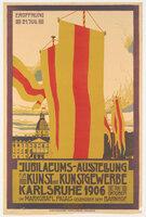 Poster: Jubiläums-Ausstellung für Kunst und Kunstgewerbe by FREY, Max [1874-1944]