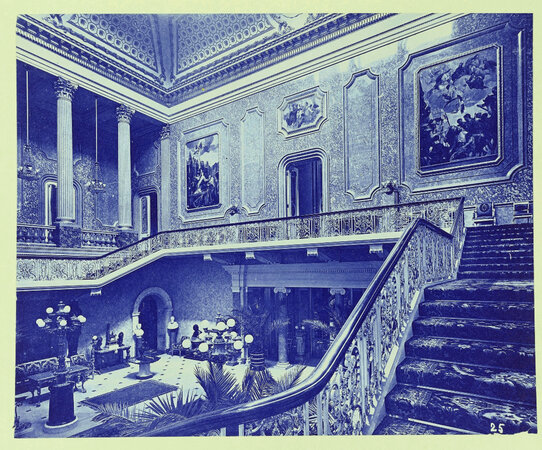 'Intérieurs Anglais: a catalogue of 50 cyanotypes of British house interiors, 1880s–1890 by Architectural Photography BEDFORD LEMERE & CO.