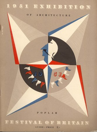 1951 Exhibition of Architecture Poplar by FESTIVAL OF BRITAIN