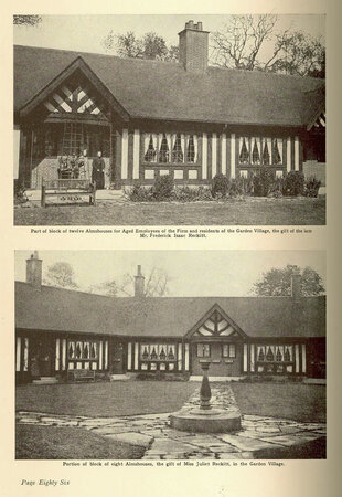 The Welfare Work of Reckitt and Sons Limited by [HULL GARDEN VILLAGE INCLUDED] RECKITT AND SONS LTD.,