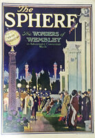 THE SPHERE 1924 no 1278 volume XCVIII July 19 1924 Special issue: The Wonders of Wembley in Advertising Convention Week. by WEMBLEY EXHIBITION 1924