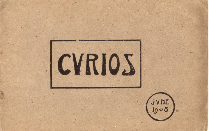 Curios Catalogue for the Month of June by LIBERTY & CO.
