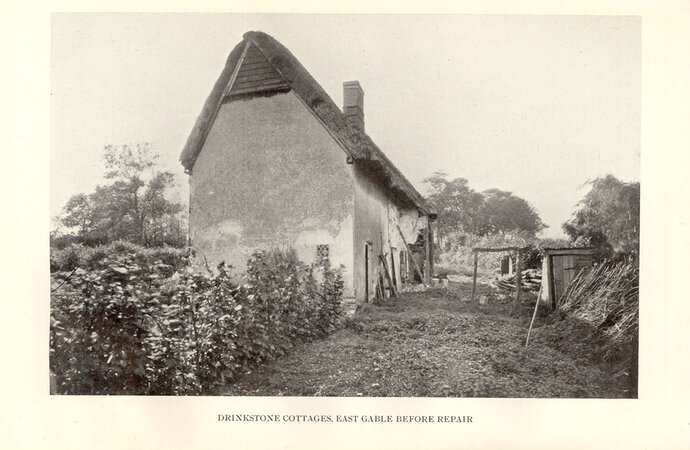 An Old Cottage Saved: by POWYS, A. R. [ Introduction by Alfred H Powell