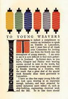 To Young Weavers by MORTON. James,