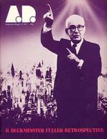 Architectural Design December 1972 Special Issue by [BUCKMINSTER FULLER] PIDGEON, Monica