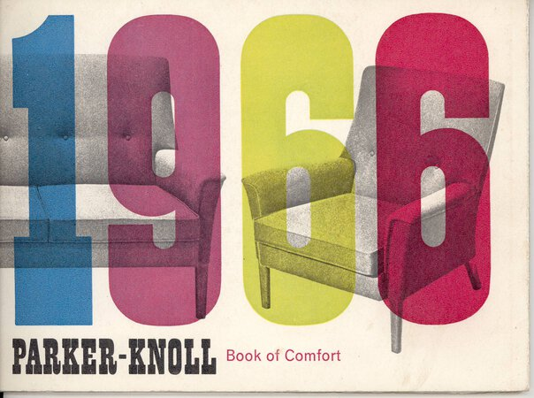 Parker Knoll Book of Comfort 1966 by [PARKER KNOLL]