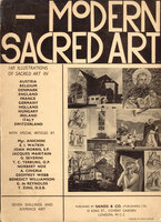 Modern Sacred Art by [CHURCH ART] MORRIS, Joan {Foreword}