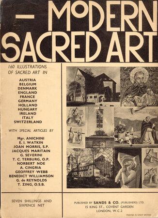 Modern Sacred Art by [CHURCH ART] MORRIS, Joan {Foreword}