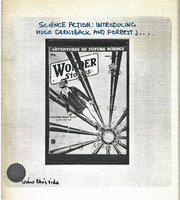 Science Fiction: Introducing Hugo Gernsback and Forrest J.... [Ackerman] by [KRAZY KAT ARCHIVE] STEER John [Foreword]