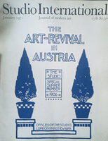 Untitled by ART REVIVAL AUSTRIA Studio International vol.191 no 929