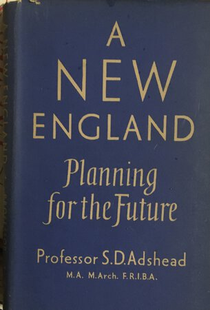 A New England by ADSHEAD Professor S. D.