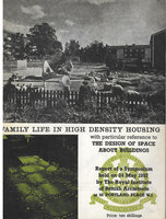 Family Life in High Density Housing with particular reference to the design of Space about Buildings by RIBA